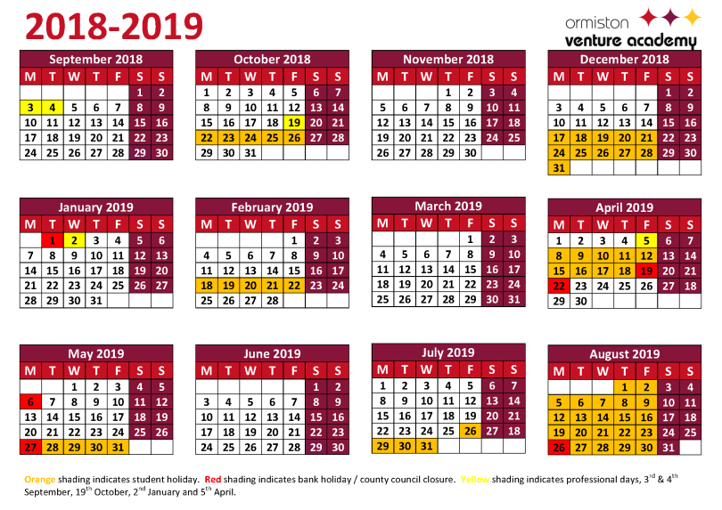 2019 NSW School Holidays Dates