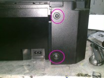 Разборка Canon MP190, MP210, MP220