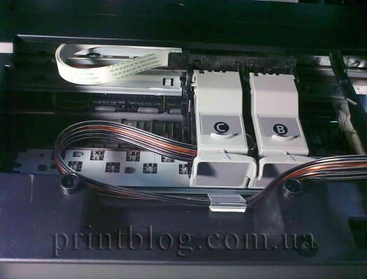 Инструкция по установке СНПЧ Canon Pixma MP230
