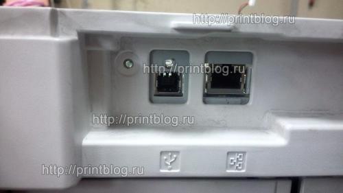 Canon i-SENSYS MF5940dn ошибка E744-4000, перевернутый экран. Решение.