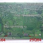 Прошитые микросхемы для Xerox 3025BI 25Q64 и 24С64 главная плата обратная сторона