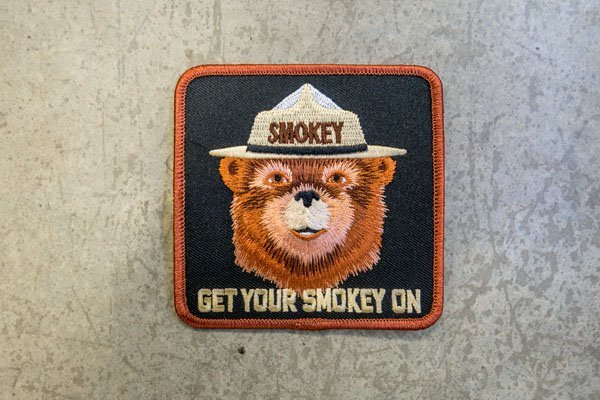 smokey bear get smokey patch