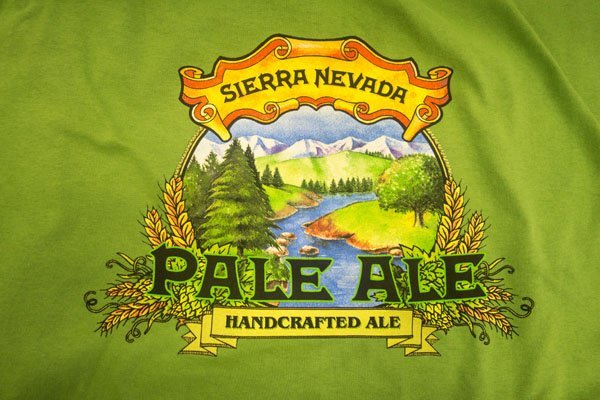 Sierra nevada Pale Ale screen print