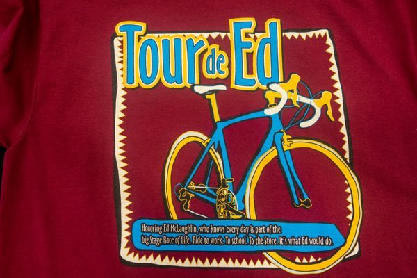 Tour de Ed shirt