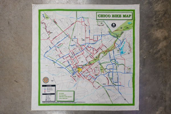 Chico bike map