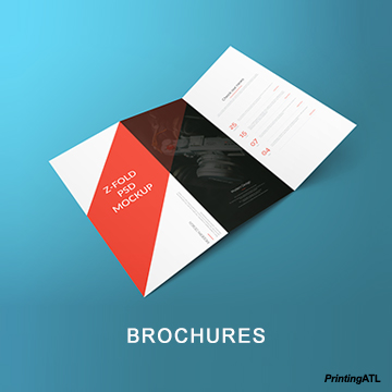 250 Brochures Printing Services in Atlanta  GA 250 Brochures