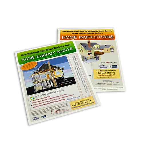 Full Page Brochure Printing      Printing by Johnson     Mt  Clemens     Custom Brochure Printing