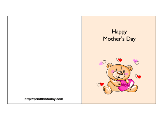 Wish Your Mom Or Grandma A Happy Mothers Day With This Cute Card . 1650 x 1275.Happy Valentine Mothers Day Message Mother In Law