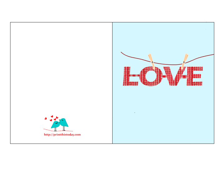 Funky Love Card For Him. 1650 x 1275.Printable Valentine's Cards For Boyfriend