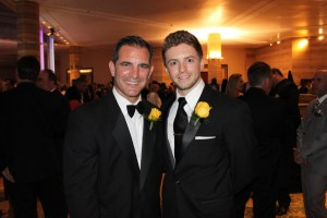 L to R:Jose C. Romano and Zachary Scott(Man of the Year candidates)