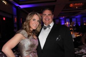 L to R: Carolyn Cauceglia(Chairwoman),Steven Rocco(fiancé)