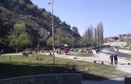 Erërat e fuqishme rrëzojnë një plep të madh në Marash të Prizrenit (Video)