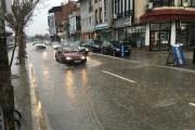 Kështu dukej Prizreni pas shiut dhe breshëritë (Video)