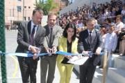 """Përurohet oborri i renovuar i shkollës """"Bekim Sylka"""""""