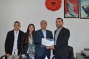 Kuvendi i të Rinjve të Malishevës falënderon Begajn për mbështetje