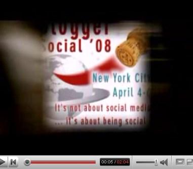 Blogger Social Video