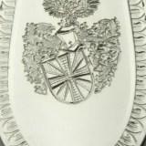 Besteck mit Wappengravur