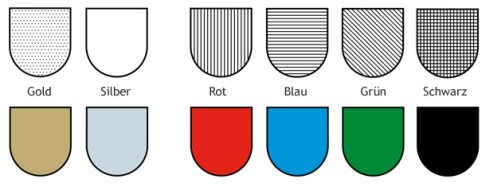 Heraldik-Farben
