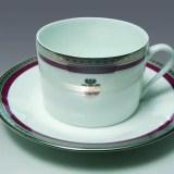 Tasse mit Wappen