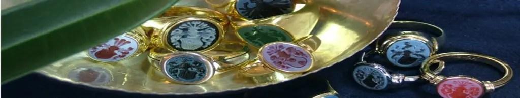 Siegel-und Wappenringe von Pro Heraldica