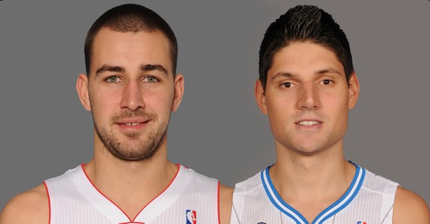 Valanciunas and Vucevic