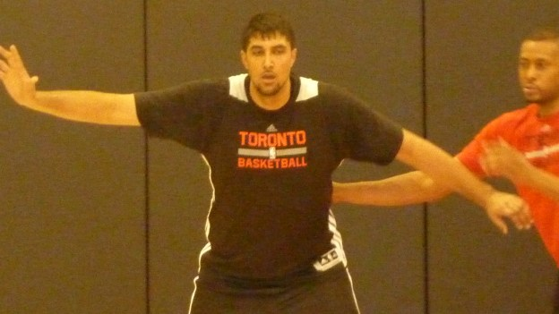 Sim Bhullar stretches out