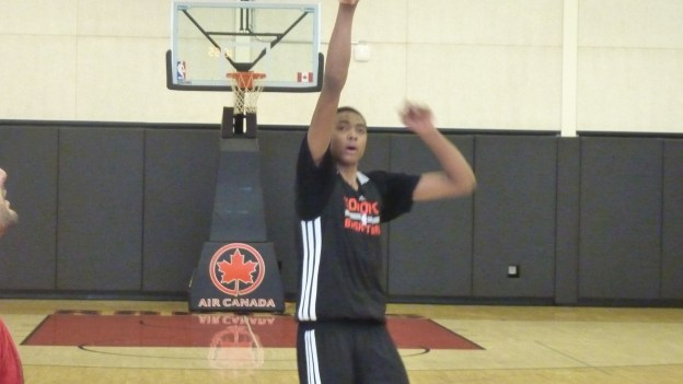 Caboclo follows thru