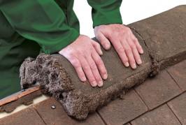 Flexim Roof Putty Offer Mortar Bonded Ridge Tile Solution