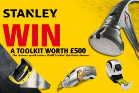 Stanley Are Giving Away A Toolkit Worth £500