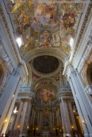 Sightseeing in Rome Painted Dome Church