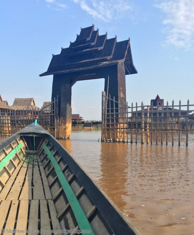 "Most accommodations on Inle Lake take the form of ""floating hotels""."