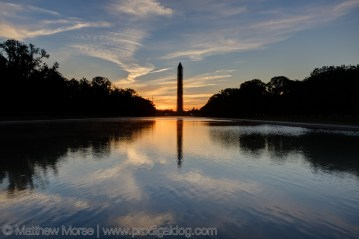 Sunrise national mall