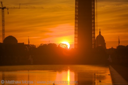 National Mall Sunrise Capital