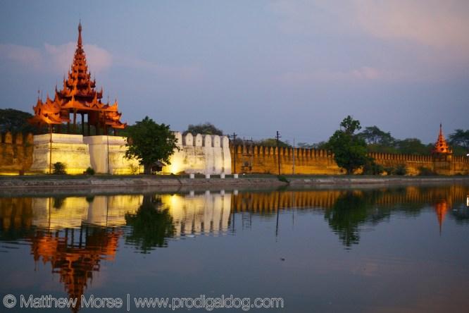 Mandalay Palace Walls
