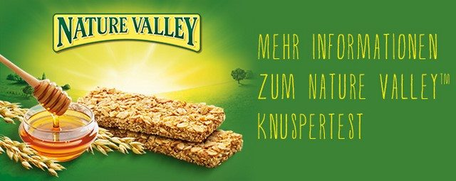 Nature Valley Produkttest (1)