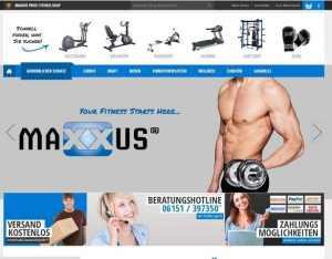MAXXUS Startseite