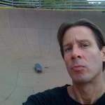 Design Engine's Joel Koster at Burton's Burlington Skatepark