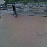 Mini Ramp at Burton's Burlington Skatepark