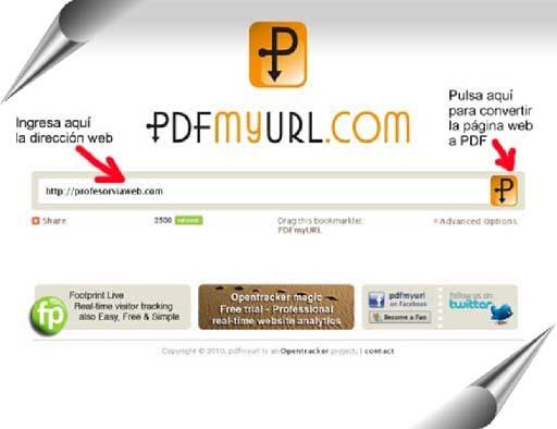 convertir pagina web a pdf