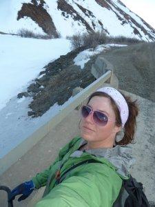 Biking in Denali National Park