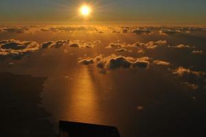 Kauai sunrise at 10,000 ft.