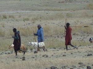 Maasai people in Tanzania