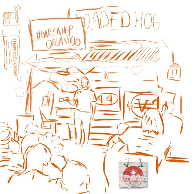 BarCamp Orlando 2013 Sketch