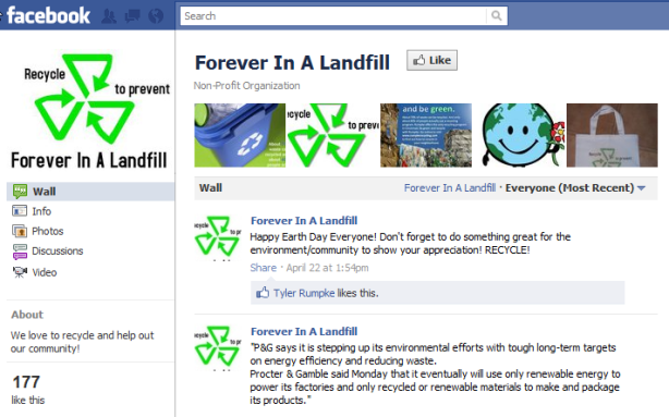 Forever in a Landfill Group Project Example