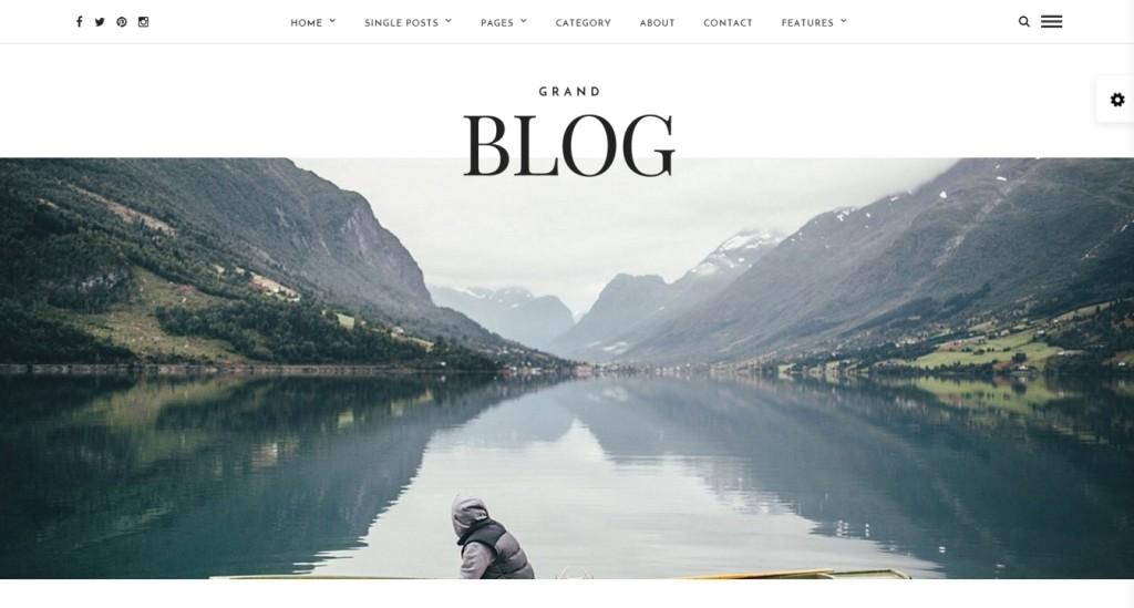 Best WordPress blog template 2016