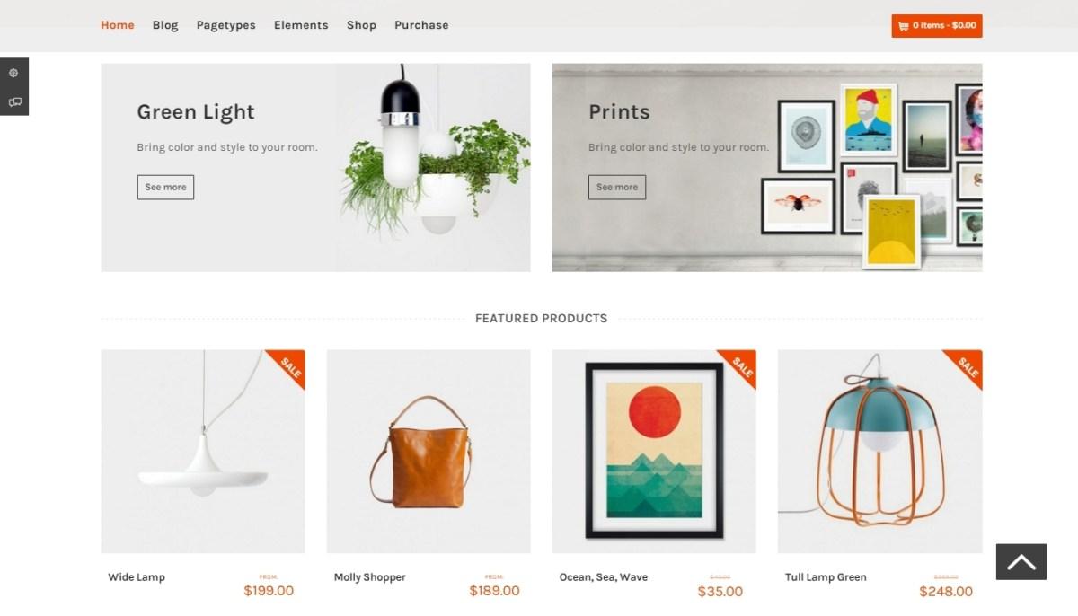WordPress Store Themes