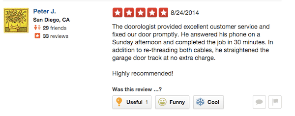 Rocklin Garage Door Repair Sunday Service