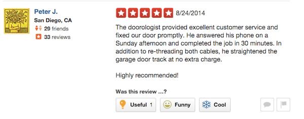 Rocklin Garage Door Repair Sunday Service