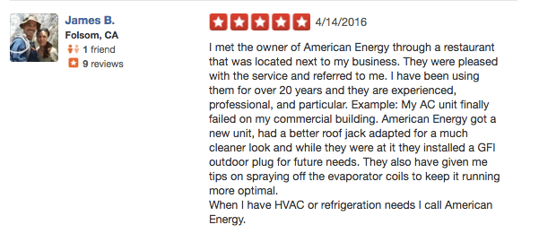 Folsom Review - American Refrigeration Contractor