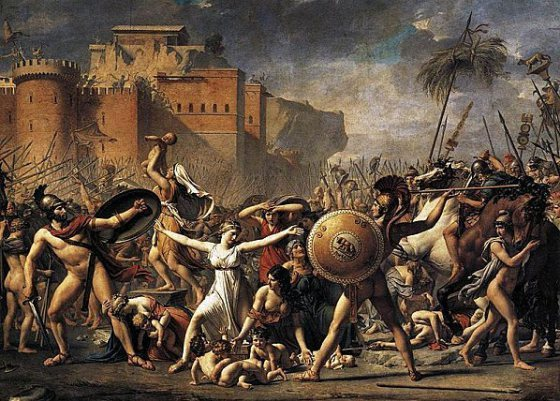 L'Enlèvement des Sabines, David